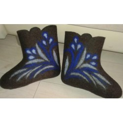 """Валенки чувашские ручной работы недорого """"Вдохновение"""" - самая теплая зимняя обувь"""